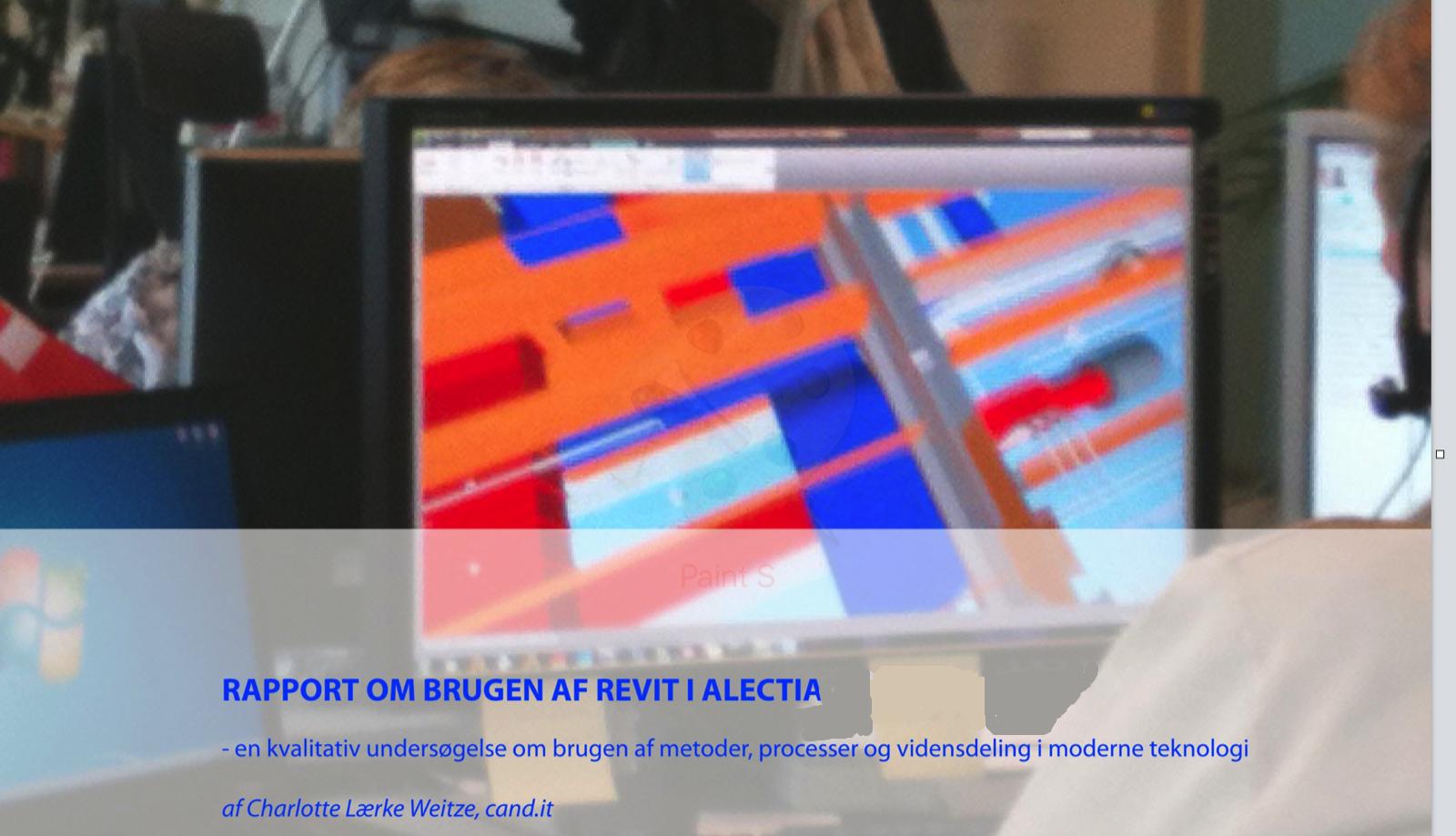 Revit_BIM Rapport Alectia